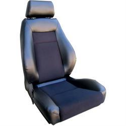 Procar 80-1100-71R Elite Seat, Passenger, Vinyl/Velour