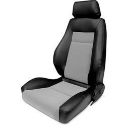 Procar 80-1100-73L Elite Seat, Driver, Vinyl/Velour