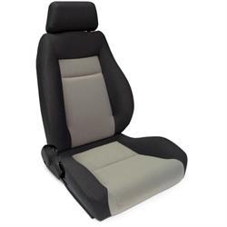 Procar 80-1100-75R Elite Seat, Passenger, Velour/Velour