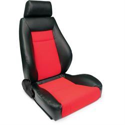 Procar 80-1100-90R Elite Seat, Passenger, Vinyl/Velour