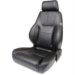 Procar 80-1200-51L Elite Lumbar Seat, Driver, Vinyl