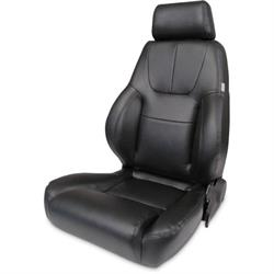 Procar 80-1200-51L-LEATHER Elite Lumbar Seat, Driver, Leather
