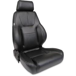 Procar 80-1200-51R-LEATHER Elite Lumbar Seat, Passenger, Leather