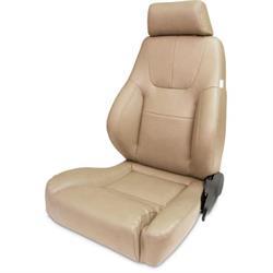 Procar 80-1200-54L Elite Lumbar Seat, Driver, Vinyl