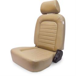 Procar 80-1500-54L Classic Seat, Driver, Vinyl/Vinyl