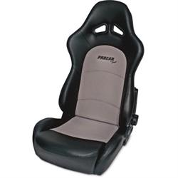 Procar 80-1615-73 Sportsman Pro Seat, Neutral, Velour/Vinyl
