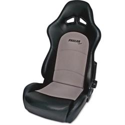 Procar 80-1615-73 Sportsman Pro Seat, Neutral, Velour/Vinyl