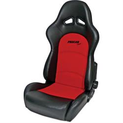 Procar 80-1615-90 Sportsman Pro Seat, Neutral, Velour/Vinyl