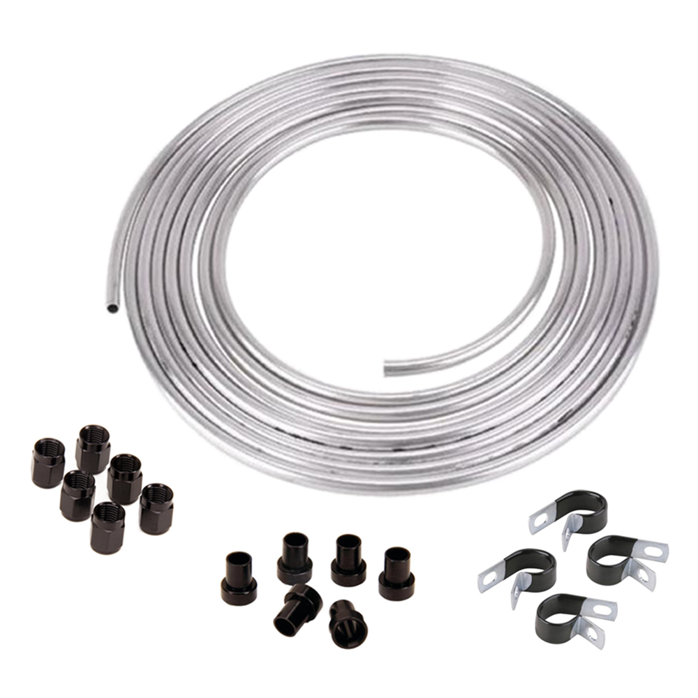 Speedway 5//8 OD Aluminum Hard Fuel Line//Tubing