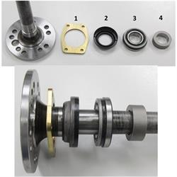 9 Inch Ford Cut-to-Fit Axle Kit, Big Ford/New Style, 31 Spline