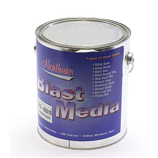 Glass Bead Blasting Media, 1 Gallon