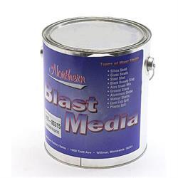Aluminum Oxide Blasting Media Material, 1 Gallon