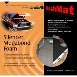 HushMat 20300 Silencer Megabond 1/2 In. Sound & Thermal Insulating Kit