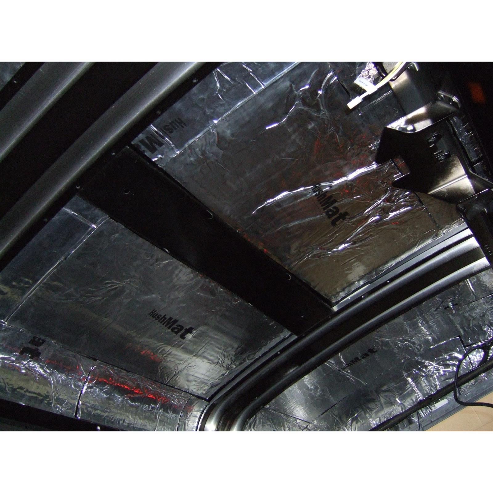 1955-1957 Tri-Five Hard Top//Sedan Floor Hushmat 625551 Sound and Thermal Insulation Kit
