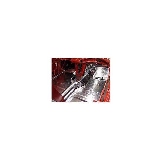 Hushmat 627631 Floor Pan Insulation Kit 1963 67 Corvette