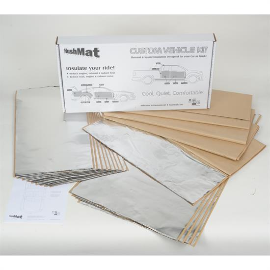 Hushmat 62280 1964-67 GTO Complete Vehicle Insulation Kit