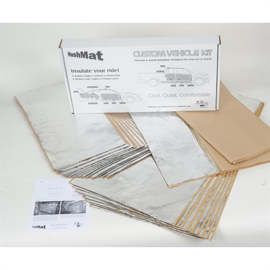 Hushmat 62282 1968-73 GTO Complete Vehicle Insulation Kit