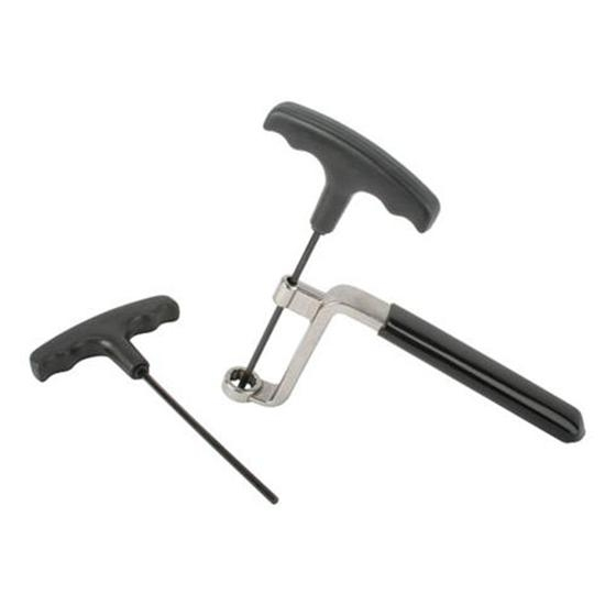 Valve Lash Rocker Adjusting T-Wrenches, 1/2 Inch w/ 3/16 and 1/8 Inch