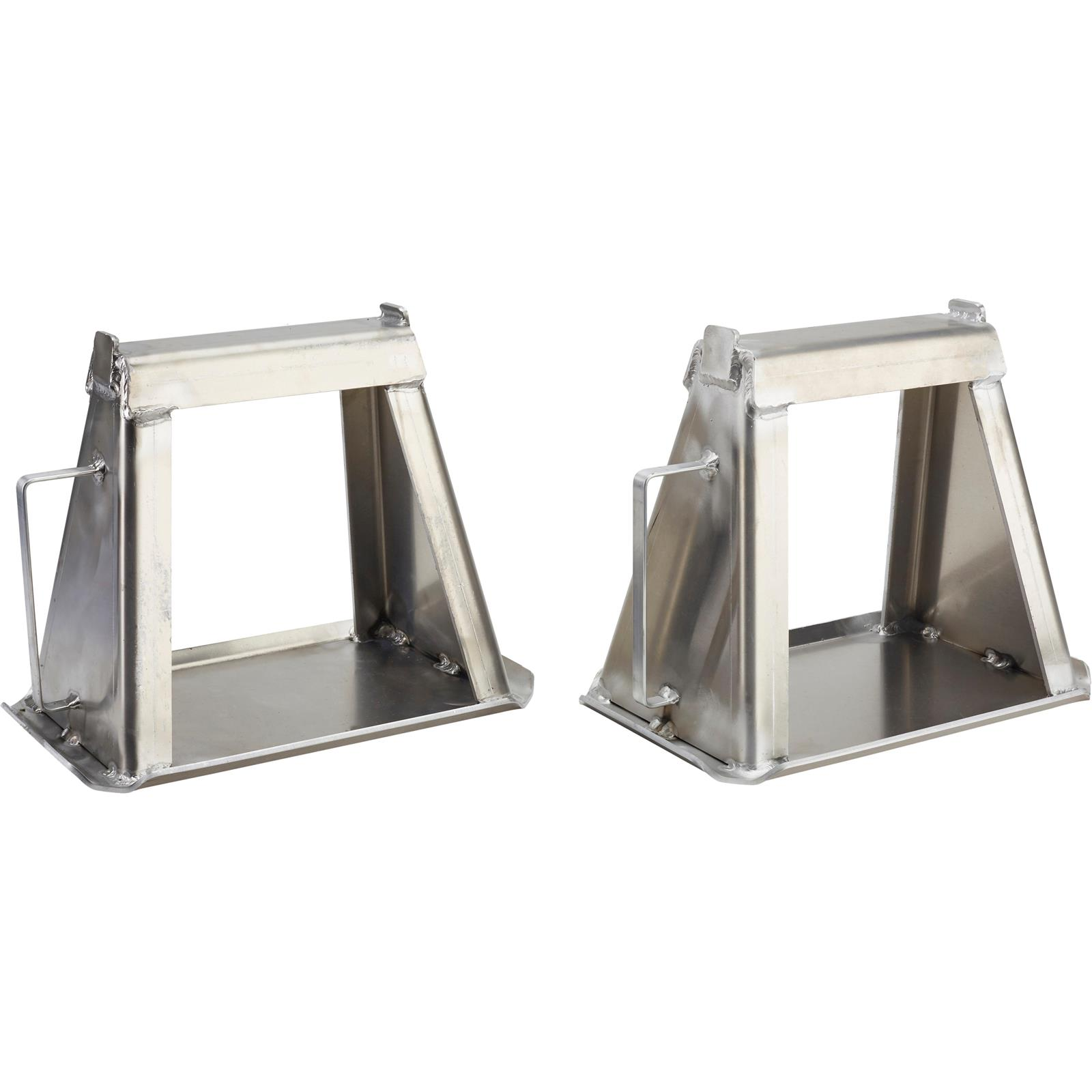 Ernst Manufacturing Jack Stand Covers Set of 2 Yellow