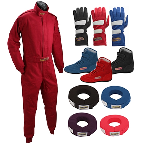 Speedway Single Layer One Piece Economy Racing Suit Combos