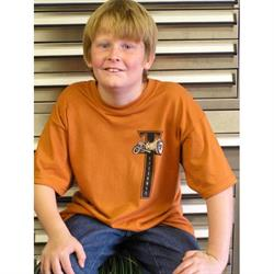 Speedway Youth T-Bucket Cartoon Shirt, Size Medium