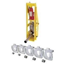 3rd Generation Hydraulic Round Tubing Bender & 5 Die Set