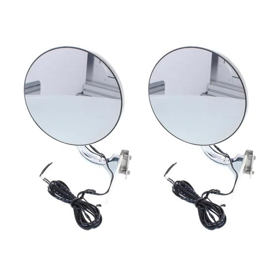 4 Curved Arm Peep Mirror With Convex Mirror Glass
