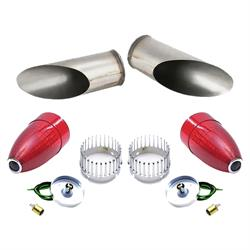 1959 Cadillac Blue Dot Tail/Stop Light Kit with Frenching Buckets