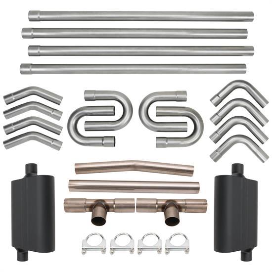 2.50 In. Flowmaster Universal Single Tailpipe Kit