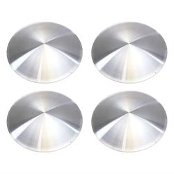 Spun Aluminum Disc 15 Inch Deep Dish Wheel Covers, Set of 4
