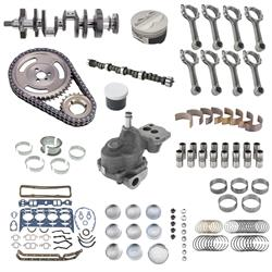 SBC Chevy 350 Complete Re-Ring Rering Overhaul Kit w// Bearings Gaskets /& Seals