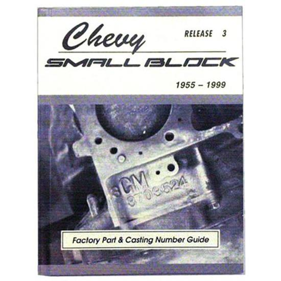 Book - Chevy Small Block Part Numbers and Casting Numbers