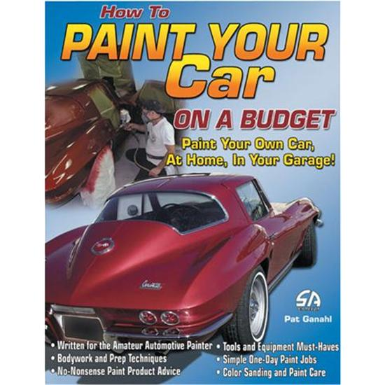CarTech SA117 How to Paint Your Car on a Budget, Book