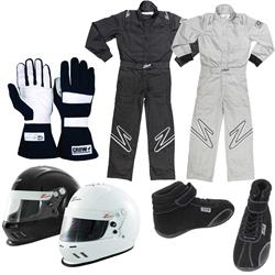 Zamp Youth One-Piece Racing Suit Combo with Helmet