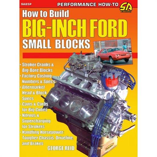 CarTech SA85P How To Build Big-Inch Ford Small Blocks, Book