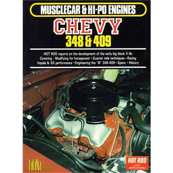 Garage Sale - Book - Musclecar & Hi-Po Engines-Chevy 348 & 409