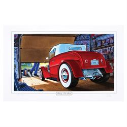 Limited Ed. George Trosley Print - Honey I'm Home