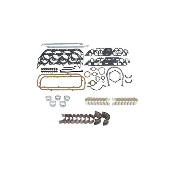 BBC Chevy 454 Rering Kit Rings Bearings /& Gaskets 86-90