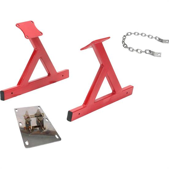 Speedway GM LS V8 Engine Storage Stand with Lift Plate, Chain