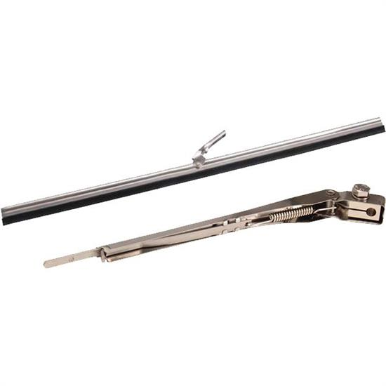 Replacement Windshield Wiper Arm with 11 Inch Push-On Blade