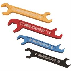 Speedway Aluminum AN Fitting Wrench Set