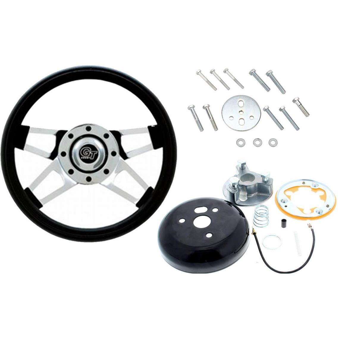 Grant 440 Challenger Gt Steering Wheel 13 1 2 Inch W Install Kit