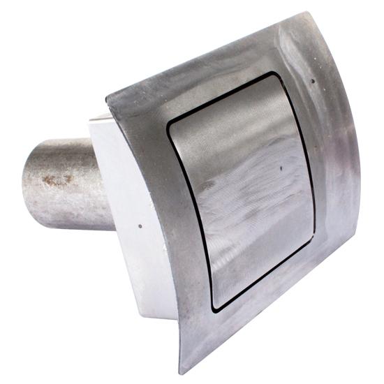Square 90 Degree Fuel Filler Door Hagan 90SC Curved Face