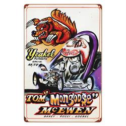 Mongoose Drag Garage Sign