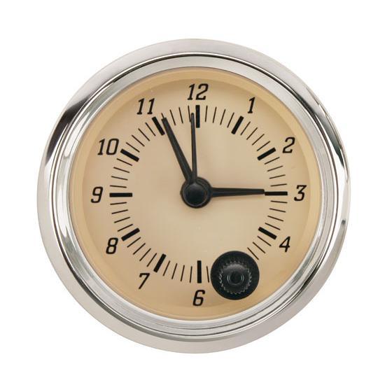 omega kustom clock gauge timeless tan 2 1 16