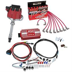 MSD 8362 Street Fire Chevy HEI Distrib. Ignition Kit, 6201/31199