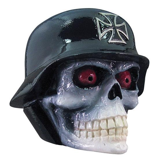 Cast Resin Shift Knob - Helmet Skull