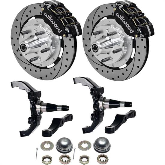 Wilwood WWE Drop ProSpindle M-II Disc Brake Kit, 12.19 Inch Rotor