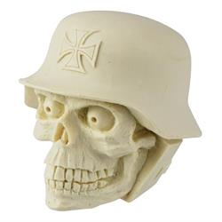 Unpainted Shift Knob - Helmet Skull