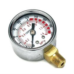 Performance Tool W10055 Portable Air Tank Replacment Gauge